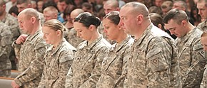 Families send off 838th soldiers to Afghanistan