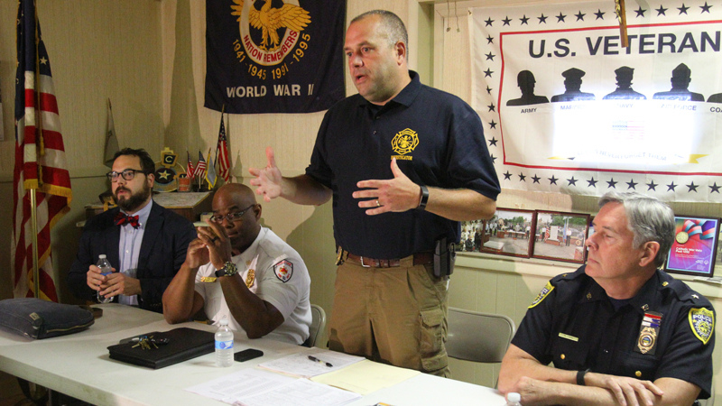 West Siders get update on arsons, asked for help