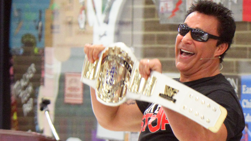 Be careful how you impact each other's lives, ex-pro wrestler tells Choffin students