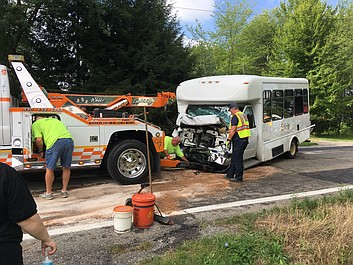 UPDATE | Fowler Township crash sends several to the hospital