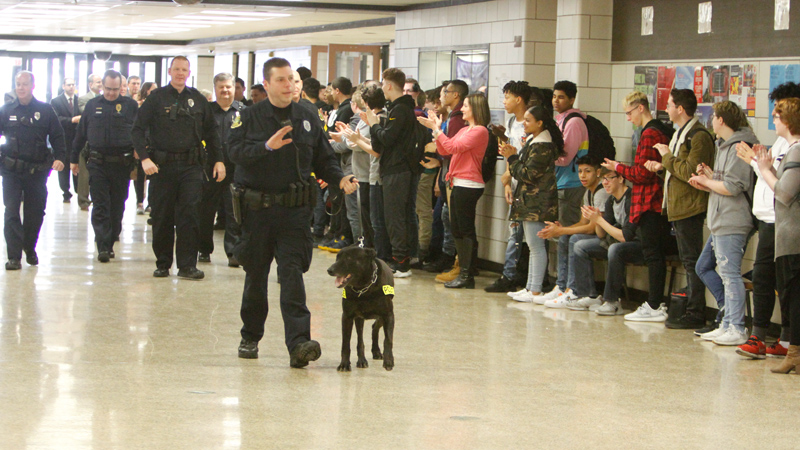 Boardman High recognizes responders, honors Fla. school shooting victims
