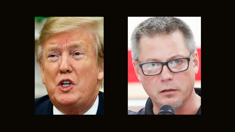 UAW president | 'I'm not mad at Trump'