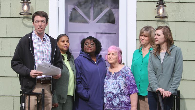 YNDC celebrates 100th home rehab