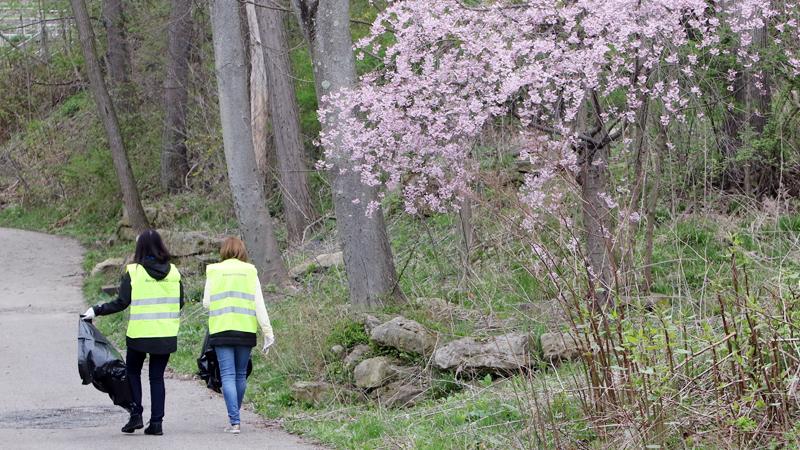 Volunteers kick off Great American Cleanup
