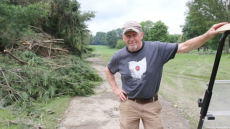 Cleanup efforts continue at Yankee Run Golf Course