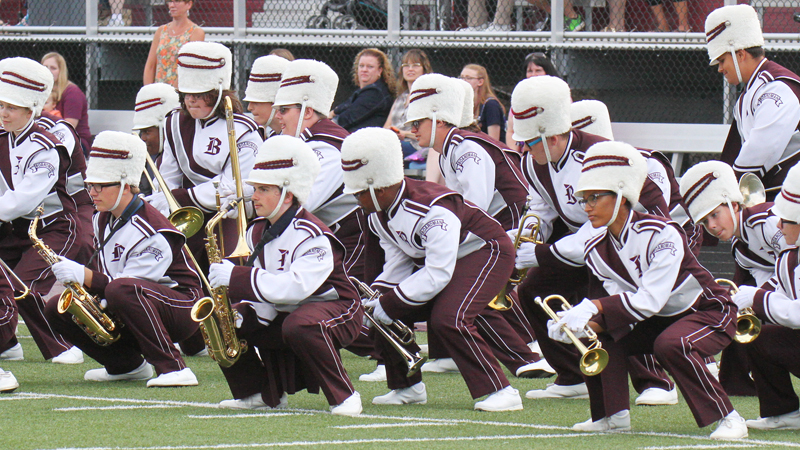 Clear, fall-like skies welcome bands to Boardman Band Night