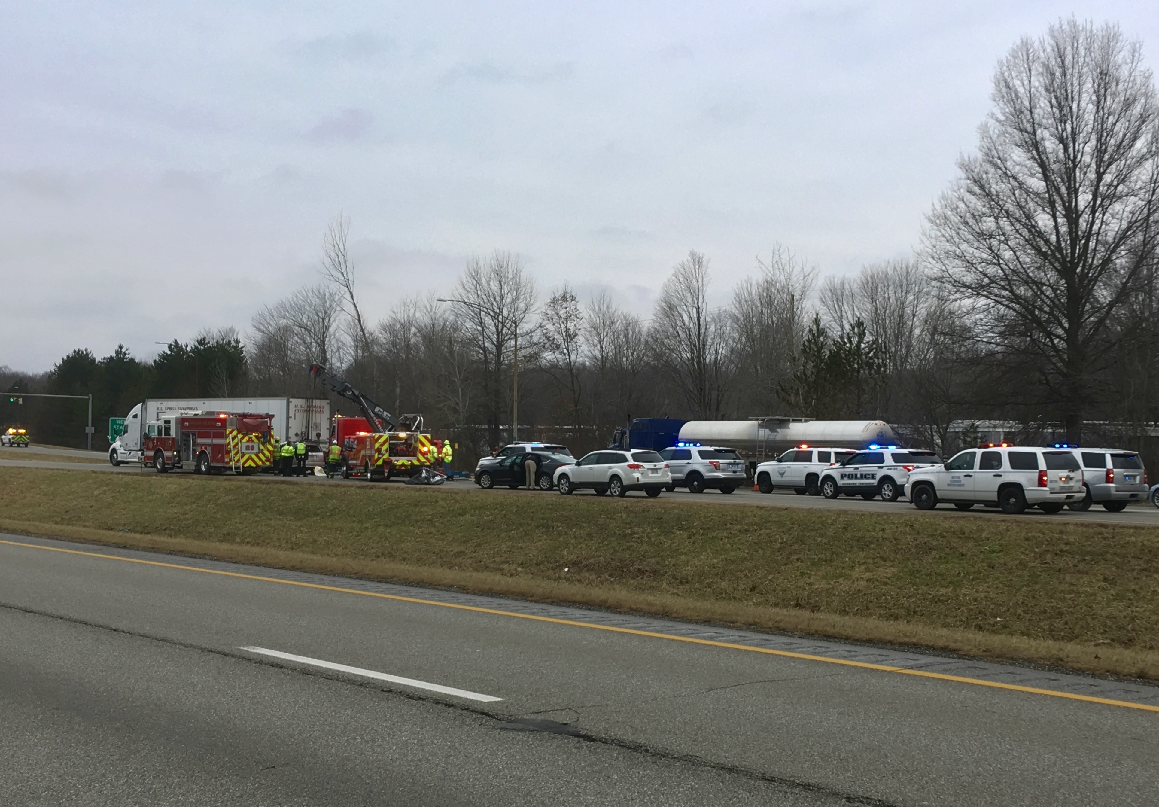 UPDATE   I-80 back open after fatal crash near Liberty