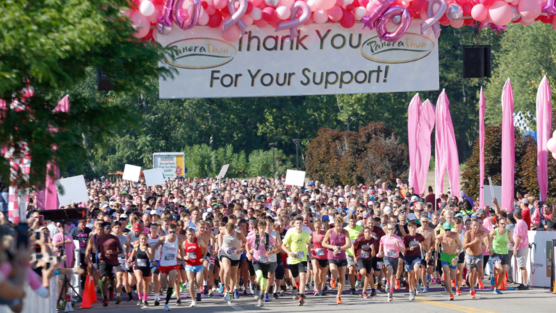 12,000 enjoy weather, commaraderie, memories at this year's Panerathon