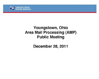 Area Mail Processing Public Meeting