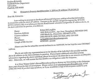 Stalker police records