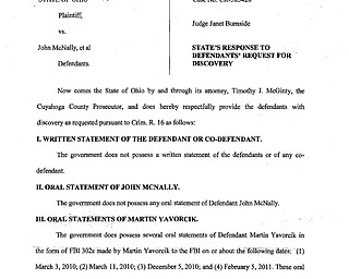 State's Response to Defendants' Request for Discovery