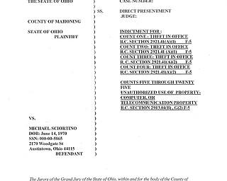 Sciortino Indictment File