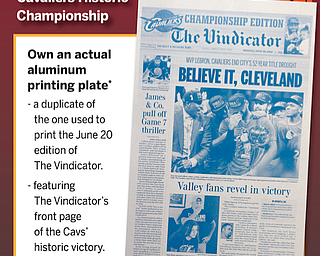 Cavs' historic victory | Aluminum printing plate