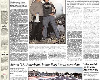 Vindicator Publication - September 15, 2001