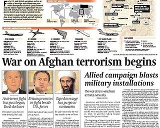 Vindicator Publication - October 8, 2001