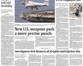 Vindicator Publication - October 9, 2001