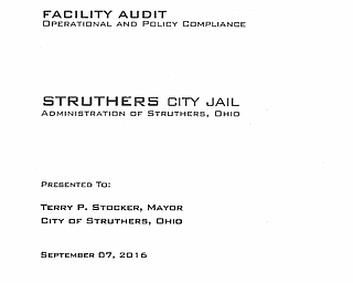 Struthers Jail Audit Report