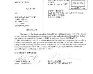 Barbara Copeland Court Documents