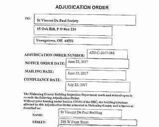 St. Vincent - Adjudication Order