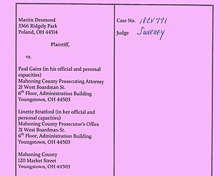 Desmond v. Mahoning prosecutors