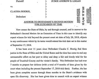 Hoerig trial