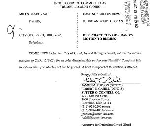 Speed camera lawsuit
