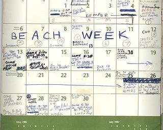 Kavanaugh calendar