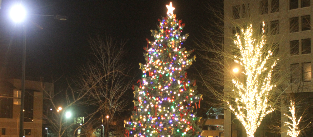 Downtown Youngstown Lights Up Tonight Music Parade Tree Lighting