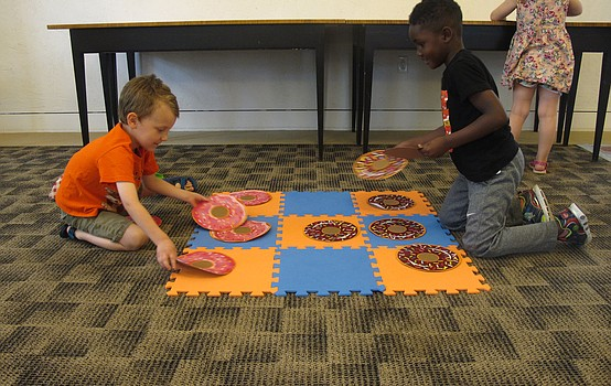 Library celebrates National Doughnut Day