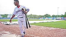 Scrappers rainout stalls Palacios' promising outing
