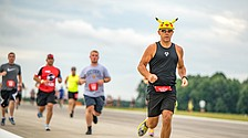 All ages take part in 5K on the Runway