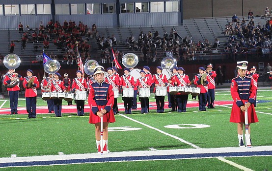 Austintown marching band hosts 47th band night
