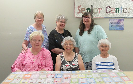 Seniors create crafts for community outreach in Austintown