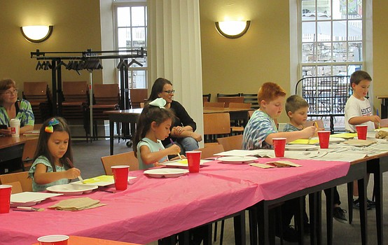 Poland library hosts spooky crafting parties
