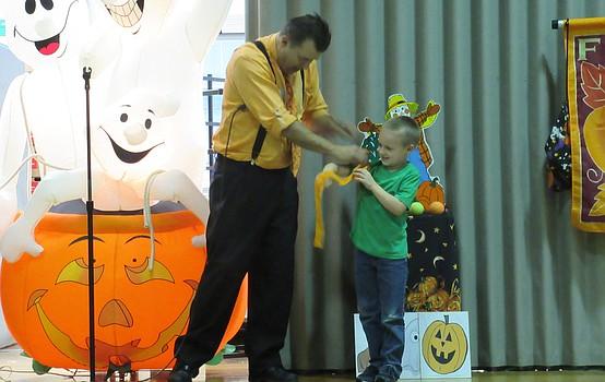 Poland hosts Halloween magic show