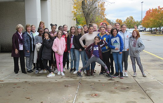 Girl Empowerment Mentorship Program visits Macy's