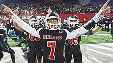 Waid leads Indians over Hubbard