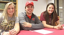 Boardman athletes to compete at collegiate level