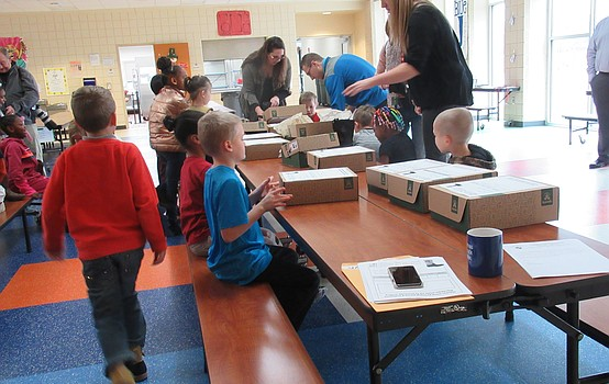 Making Kids Count delivers boots to students
