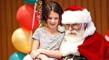 Lunch with Santa event aims to foster sense of community