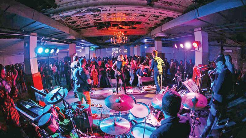 Solstice party to feature Grand Buffet, Van Allen Belt