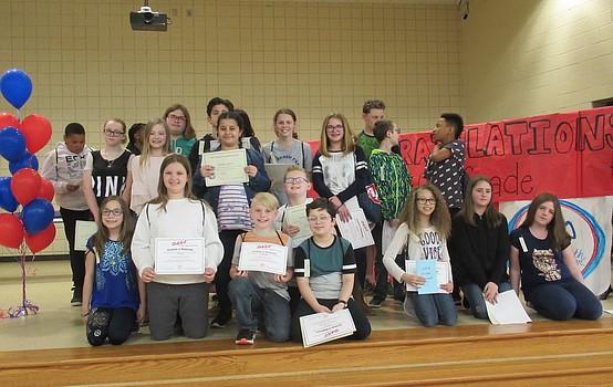 Austintown Intermediate celebrates fifth-grade graduation