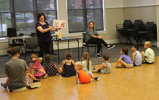 Popular children's books celebrated at Canfield library