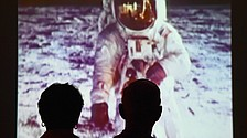 Warren couple discover link to 'first man on moon'