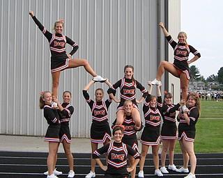 Canfield Cheerleaders