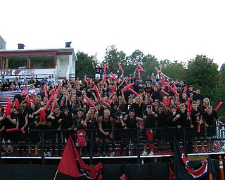 Canfield Student Section