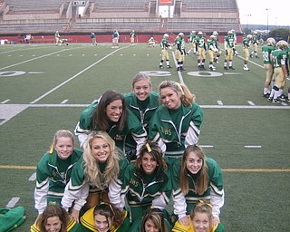 Pictures of your favorite cheerleading squad in town!
