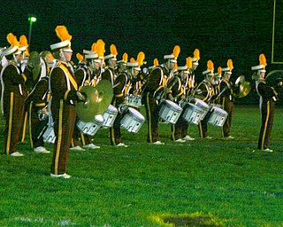 """South Range drumline shows off."""