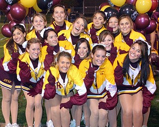 """South Range Cheerleaders say ""We're #1"" in Region 17 before the 1st