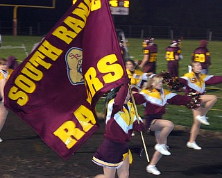 """Brittany Haynes carries the South Range banner high!"""